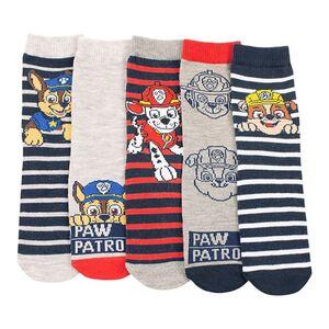 Kinder Lizenz Socken 5er, Paw Patrol für Jungen, Gr. 23-26