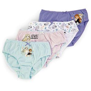 Kinder Lizenz Unterwäsche für  Mädchen im 4er Pack, Frozen 2, Gr. 98/104