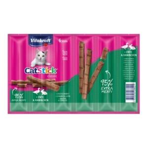 Vitakraft Cat-Stick mini 10x6 Stück Ente & Kaninchen