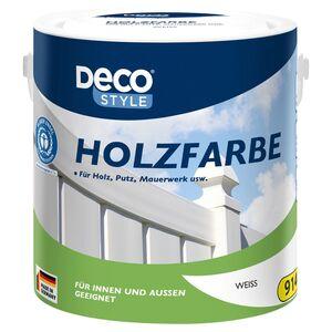 DECO STYLE®  Holzfarbe 2,5 l