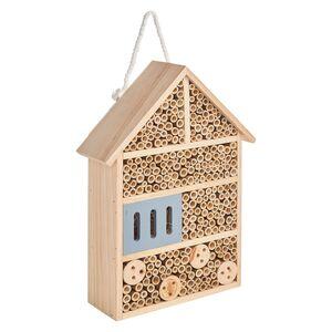 GARDENLINE®  Bienen- und Insektenhotel aus Sperrholzplatten