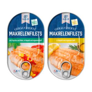 ALMARE     Geräucherte Makrelenfilets