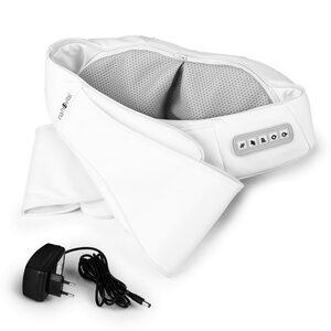 nah-vital® Shiatsu-Massagegerät - Knetmassage & Vibrationsmassage - 4 rotierende Massagebälle - weiß