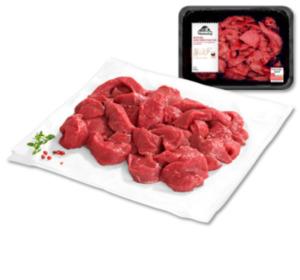 MÜHLENHOF Frisches Rinder-Geschnetzeltes