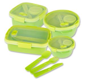 CURVER Lunchbox TO GO und Zubehör