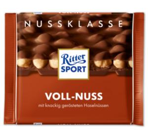 RITTER SPORT Nuss-/Kakaoklasse