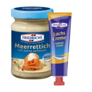 Friedrichs Saucen oder Brotaufstriche