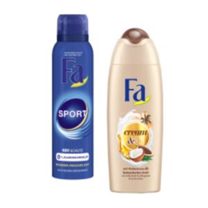 Fa Duschgel, Flüssigseife, Deo Spray oder Roll-On