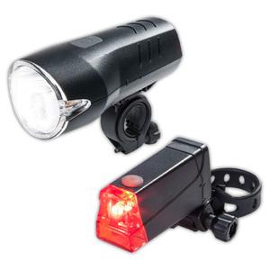 Top Velo LED-Fahrradleuchten-Set