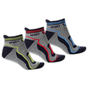 Toptex Sport Sport-Sneaker-Socken 3 Paar