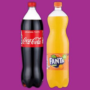 Coca-Cola Fanta Mezzo-Mix Sprite Erfrischungsgetränk