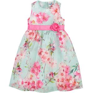 Festliches Mädchen Kleid mit Allover-Muster