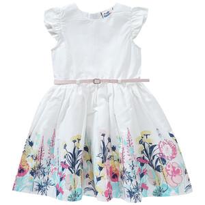 Festliches Mädchen Kleid mit Gürtel
