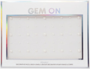 BH Cosmetics  Glitter Queen Gem On Face & Body Sticker: Pearly