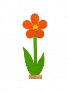 TrendLine Filz Deko-Blume ,  31 x 7 x 88 cm