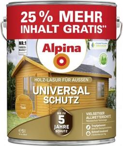 Alpina Universal-Schutz 5 l, teak