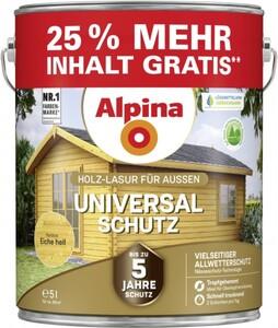 Alpina Universal-Schutz 5 l, eiche hell