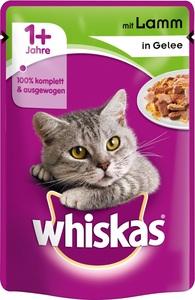 Whiskas 1+ mit Lamm in Gelee Katzenfutter nass Beutel 100 g