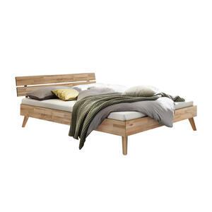 Hasena Bett kernbuche massiv , Ortona , Buchefarben , Holz , 160x200 cm , geölt,Echtholz , in verschiedenen Holzarten erhältlich, in verschiedenen Größen erhältlich,in verschiedenen Holzarten er