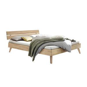 Hasena Bett eiche massiv , Ortona , Eichefarben , Holz , 160x200 cm , geölt,Echtholz , in verschiedenen Holzarten erhältlich, in verschiedenen Größen erhältlich,in verschiedenen Holzarten erhäl