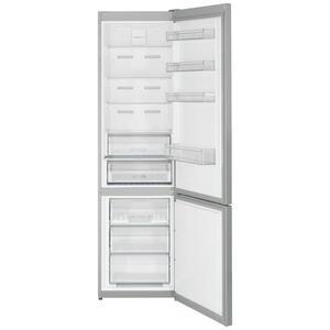 Sharp Kühl-gefrier-kombination edelstahlfarben , Sharp Sj-Ba20Iexi2-Eu , Metall, Kunststoff, Glas , 2,3 Schubladen , 59.5x201.0x65.0 cm , Abtauautomatik, LED-Innenbeleuchtung, No-Frost, Null-Grad-Zo