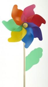 TrendLine Windrad ,  Ø 30 cm, bunt
