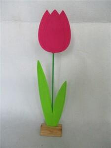 TrendLine Filz Deko-Blume ,  15 x 7 x 68 cm