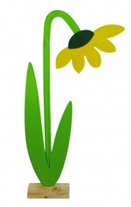 TrendLine Filz Deko-Blume ,  16 x 5 x 39 cm