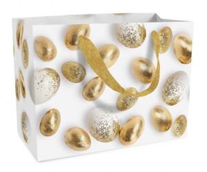 Braun & Company Geschenktragetasche Golden Eggs ,  23 x 17 x 10 cm