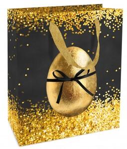 Braun & Company Geschenktragetasche Golden Surprise ,  18 x 21 x 8 cm