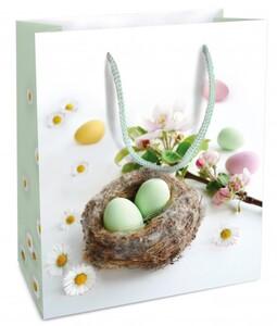 Braun & Company Geschenktragetasche Kleines Nest ,  18 x 21  x 8 cm