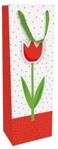 Braun & Company Geschenktragetasche Just Tulip ,  12 x 37 x  8 cm