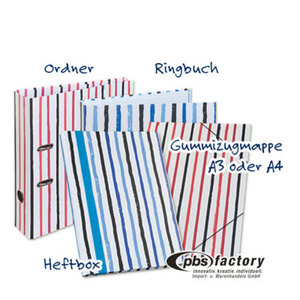 Serie 'Kraftpapier - Streifen'