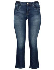 Damen Straight Fit Jeans mit Stretch-Anteil