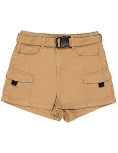 Mädchen Cargo Shorts mit Gürtel