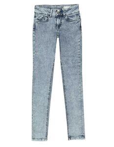 Damen Skinny Fit Jeans im Acid Washed-Look