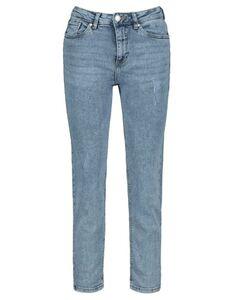 Damen Mom Fit Jeans mit Stretch-Anteil