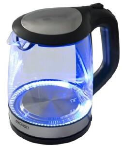 Exquisit Wasserkocher WK 3501 ,  2200 Watt, Füllmenge 2,0 Liter, Glas