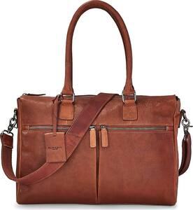 BURKELY, Businesstasche Antique Avery in mittelbraun, Businesstaschen für Herren