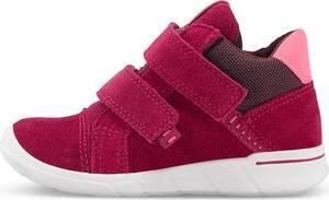 Ecco, Lauflerner First in pink, Klettschuhe für Jungen