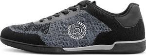 bugatti Denim, Fashion-Sneaker in schwarz, Schnürschuhe für Herren