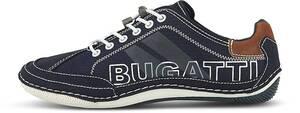 bugatti Denim, Fashion-Sneaker in dunkelblau, Schnürschuhe für Herren