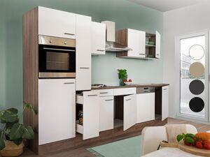 respekta Küchenzeile Eiche York 280 - 370 cm