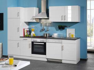 HELD Küchenzeile »Nevada«, B 280 cm, mit Elektrogeräten, aus MDF, 28 mm Arbeitsplatte