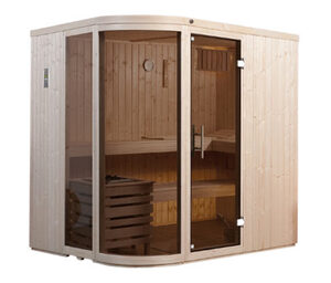 WEKA-Design-Sauna »Holm« mit 7,5-kW-Bio-Aktivofen