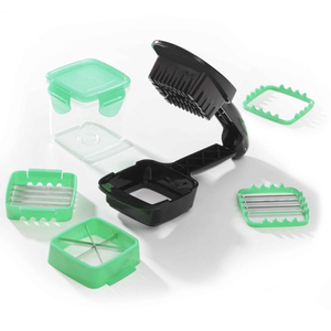 Genius Nicer Dicer Quick 7-tlg. sort.