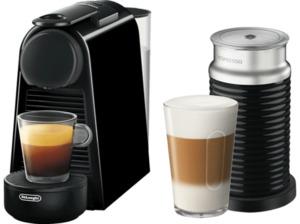 DELONGHI Nespresso Essenza Mini Aeroccino3 EN85.BAE Kapselmaschine Schwarz