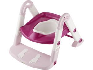 ROTHO Toilettentrainer 3 in 1 Babypflege Tender Rosé Perl/Weiß/Translucent Pink