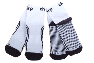 Chirp Bike-Socken 2er Set   47-49   weiß