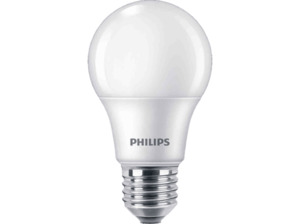PHILIPS 3er Pack LED Lampe E27 Warmweiß 8 Watt 806 Lumen